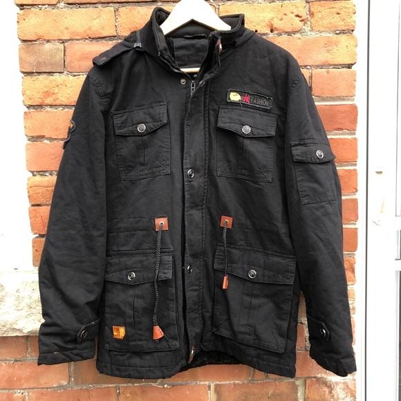 Military Fleece Jacket